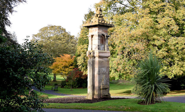 Pillar, Musgrave Park, Belfast (October 2014)
