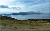 SH7683 : View from near summit of the Great Orme by Clint Mann