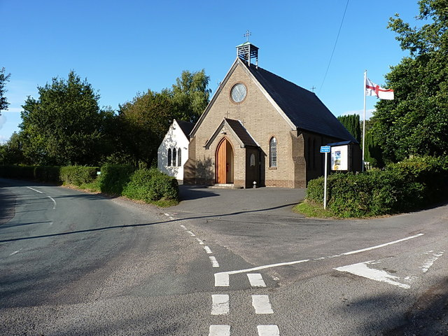 St Saviour's church, Hatherton