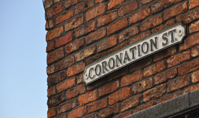 Manchester : Coronation Street Sign