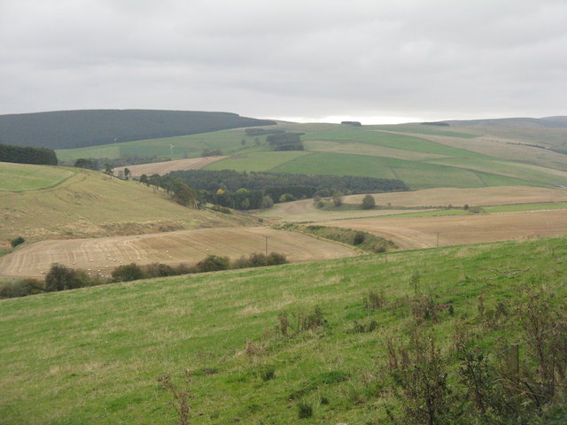 View across the valley of the Gala Water