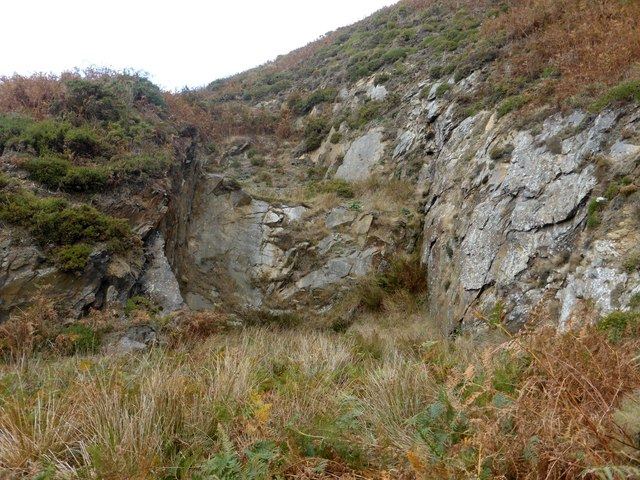 Disused quarry at Seaness