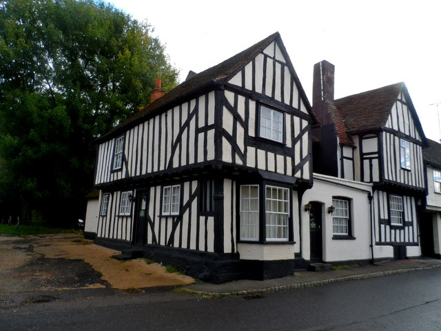 The former Cock and Bell pub, High Easter