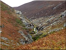 SD1184 : Waterfalls on Millergill Beck by Perry Dark