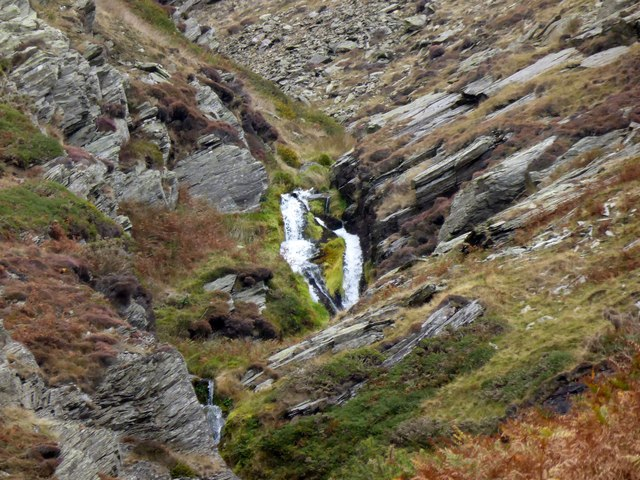 Waterfalls on Millergill Beck