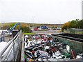 SJ7211 : Redhill, recycling centre by Mike Faherty