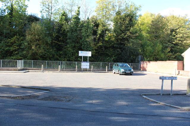 Barr Castle Car Park, Galston