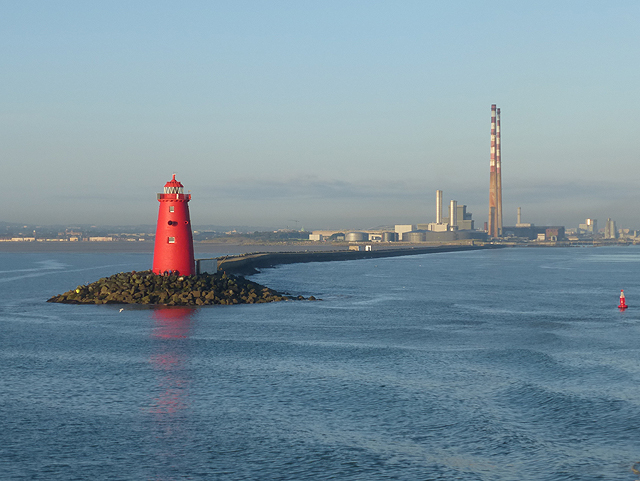Poolbeg Lighthouse and Power Station