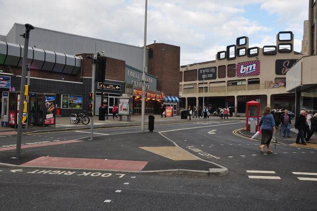 Blackpool : Bank Hey Street