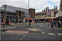 SD3035 : Blackpool : Bank Hey Street by Lewis Clarke