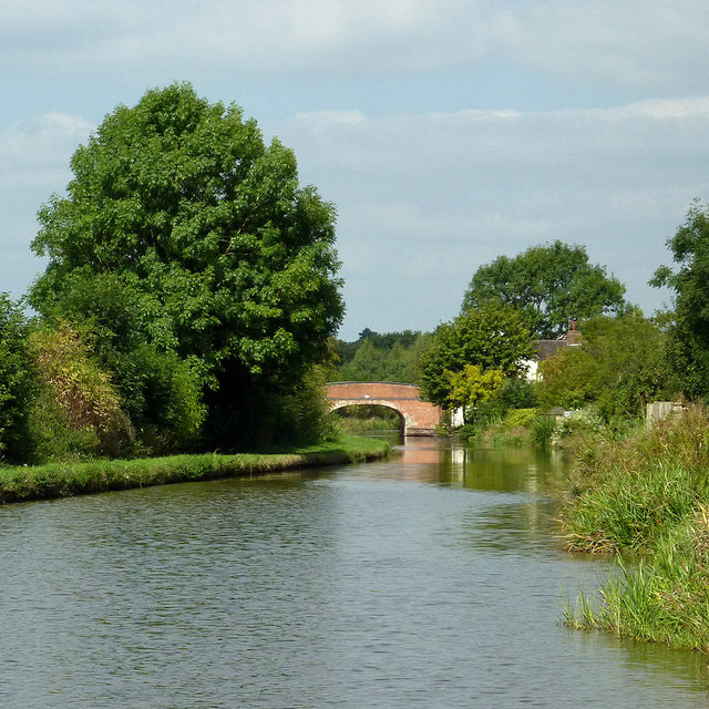Trent and Mersey Canal at Little Stoke, Staffordshire