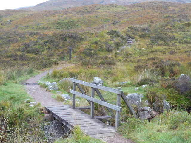 West Highland Way at Altnafeadh