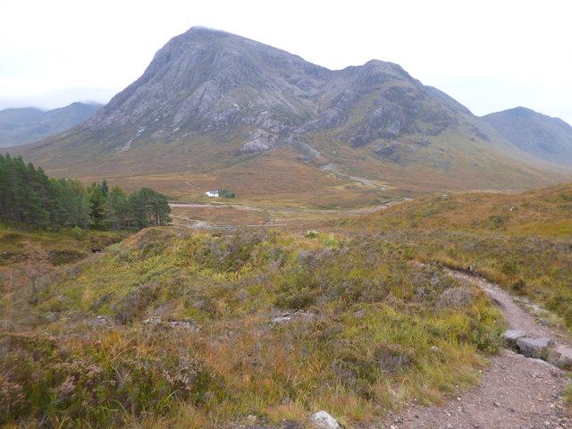 West Highland Way north of Altnafeadh