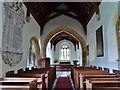 ST6504 : The Nave and Chancel, St. Andrew's church, Minterne Magna, Dorset by Derek Voller