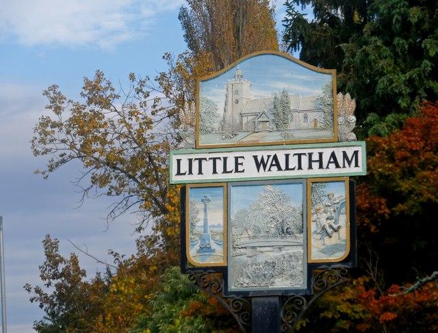 Village Sign, Little Waltham