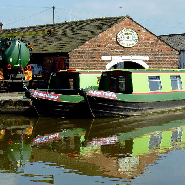 Canal Cruising Company of Stone, Staffordshire