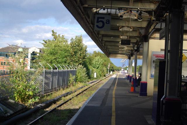 Platform 5, High Maidenhead Station