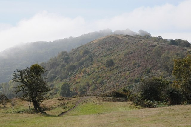 View to Swinyard Hill