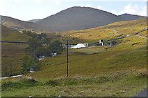 NH1838 : Looking up Gleann Innis an Loichel by Nigel Brown