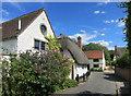 SP6908 : Buddleia in Burts Lane by Des Blenkinsopp