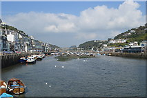 SX2553 : Looking upstream on the Looe River by John M