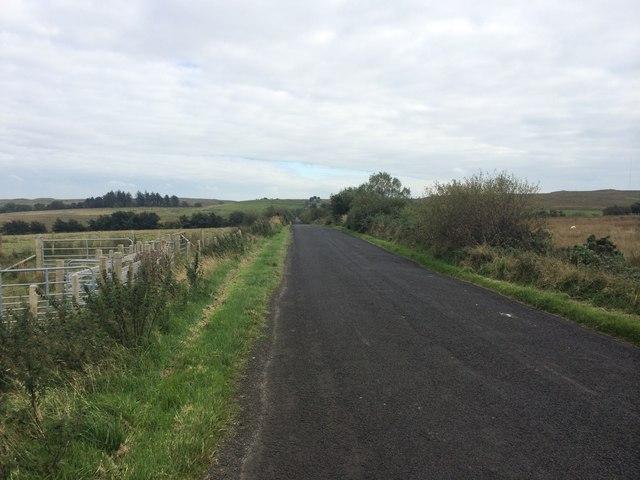 Drumbane Road at Brockaghboy