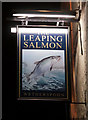 NT9952 : The Leaping Salmon by Ian S
