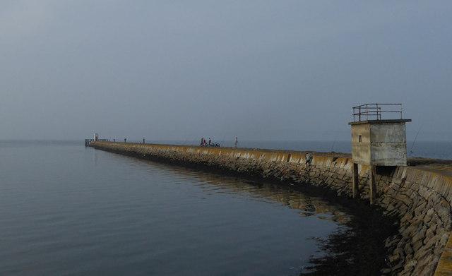 Eastern Breakwater, Granton Harbour