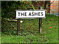 TM2162 : The Ashes sign by Adrian Cable