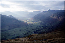 NY3006 : Great Langdale from below Lang How by Ian Taylor