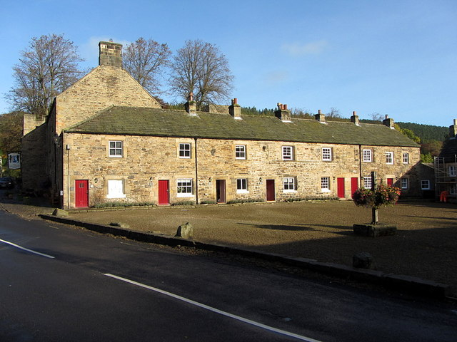 North side of the Square, Blanchland