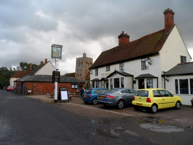 The Chequers pub, Great Tey