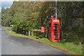 NH8504 : Feshiebridge phonebox and postbox by Nigel Brown