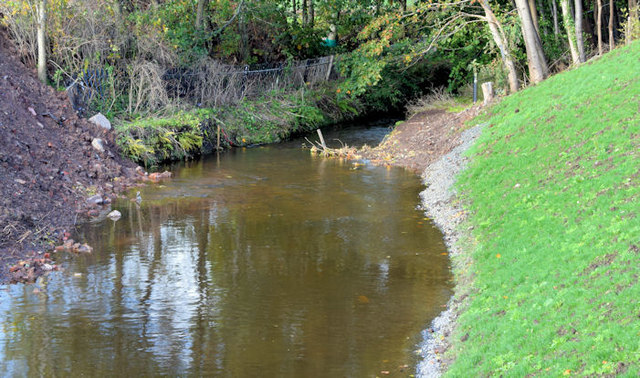 The Knock River (new course), Grand Parade, Belfast - October 2014(1)