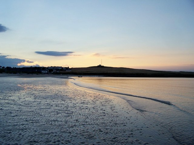 Sunset at Low Newton