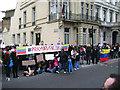 TQ2678 : Protest outside the Venezuelan Embassy, Cromwell Road, South Kensington by Robin Stott
