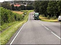 SK9924 : Corby Glen, A151 by David Dixon