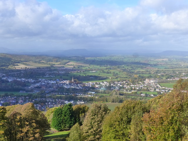 View from The Kymin viewpoint