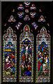 TQ8835 : East Window, St Michael's church, Tenterden by Julian P Guffogg