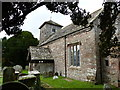 SO4110 : St Mary's church, Tregare by Ruth Sharville