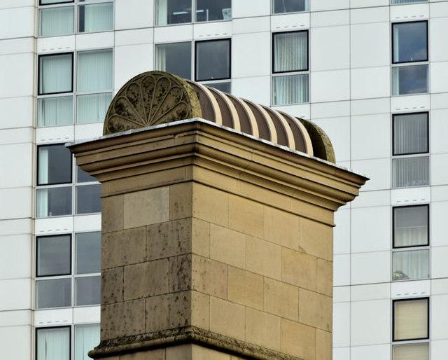 A Custom House chimney, Belfast (October 2014)