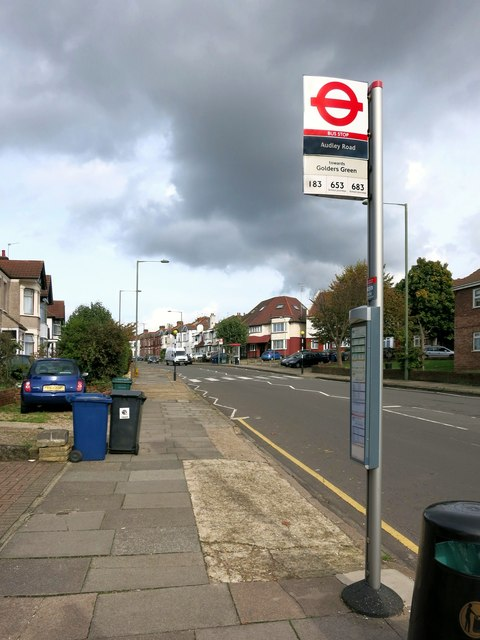Audley Road Bus Stop