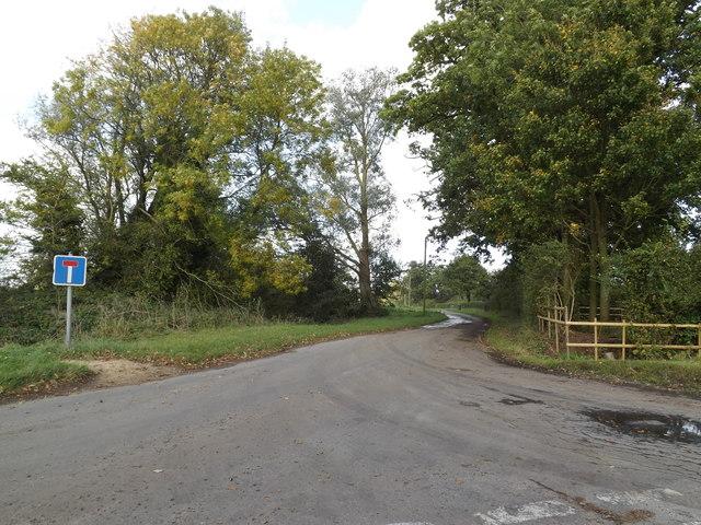 Church Lane, Gipping