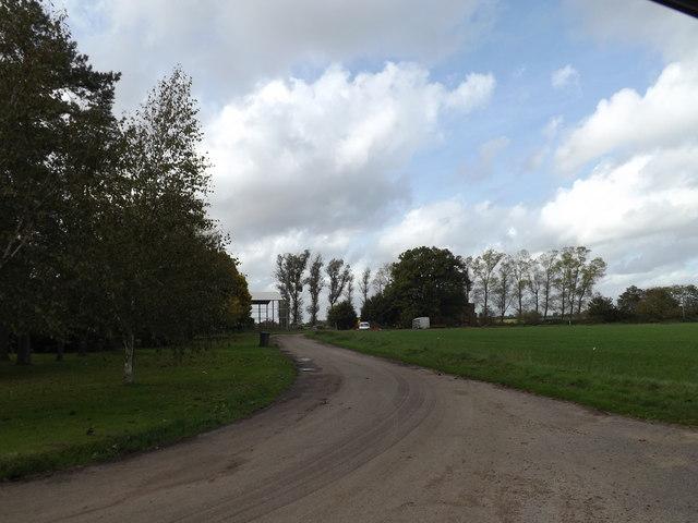 Bridleway off Church Lane