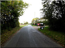 TM0663 : Chapel Road, Gipping by Adrian Cable
