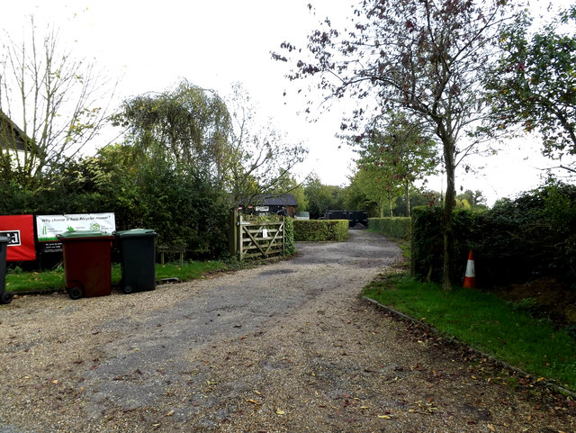 Entrance to Ash Tree Farm
