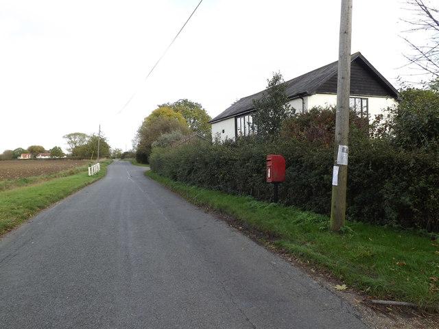 Chapel Road & Chapel Road Postbox