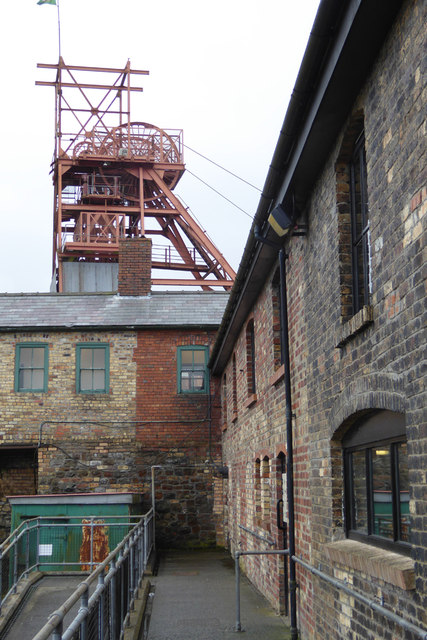 An aspect of 'Big Pit' mining museum