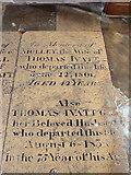 TL4568 : All Saints, Cottenham - Ledger slab by John Salmon