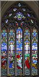 TL4568 : All Saints, Cottenham - Stained glass window by John Salmon